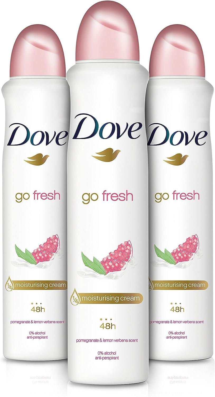 l Dove Go Fresh Desodorante Antitranspirante en Aeroso de Granada ...