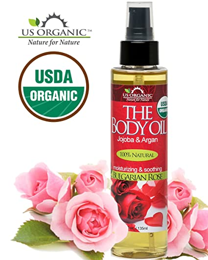 US Organic Rose Body Oil