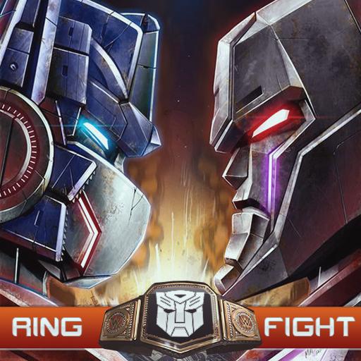 (New Ring Robots Wrestling Championship Fight War)