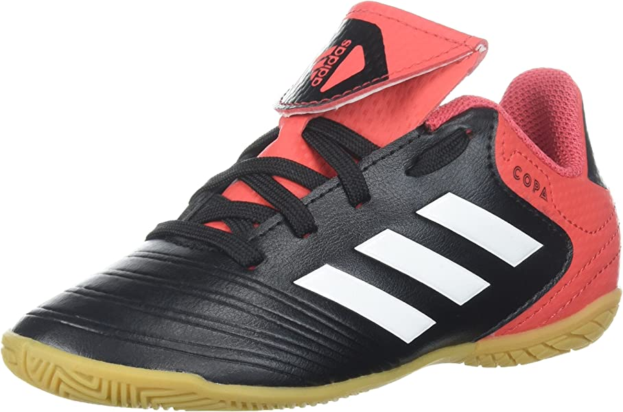 buy online 88a0b 7f817 adidas Girls  COPA Tango 18.4 in J, core Black White Real Coral