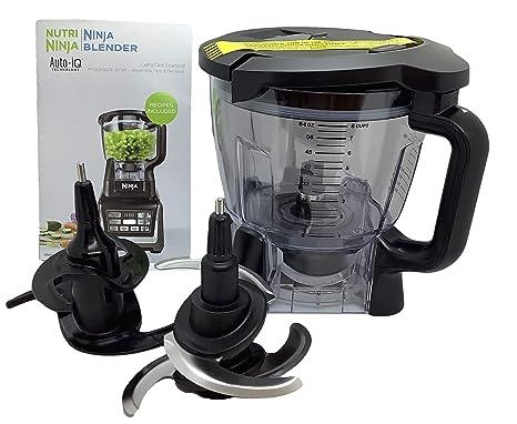 Amazon.com: Ninja 64oz (8 Cup) Food Processor Bowl Lid Blade ...