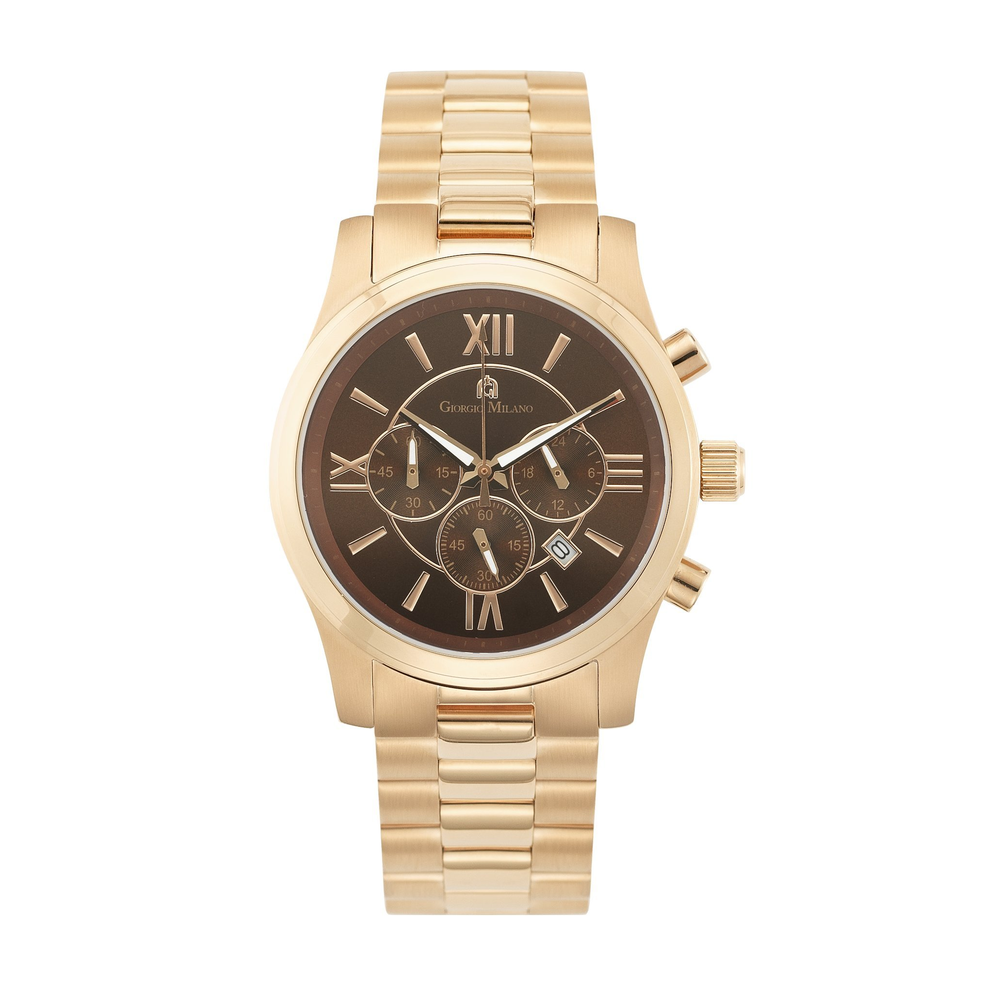 Giorgio Milano 977RG06 ''Orabella'' Rose Gold Tone Stainless Steel with Chronograph and Date