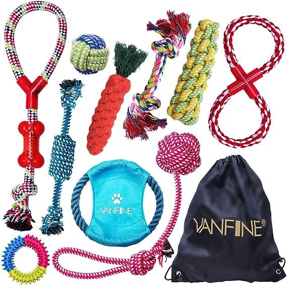 VANFINE Dog Toys Aggressive Chewers