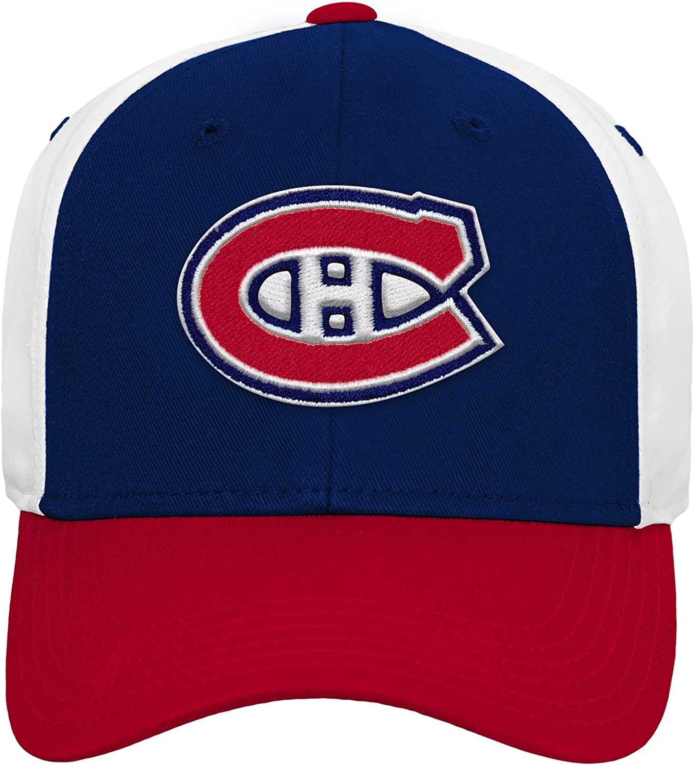 NHL by Outerstuff Boys Big Colorblock Structured Adjustable Hat