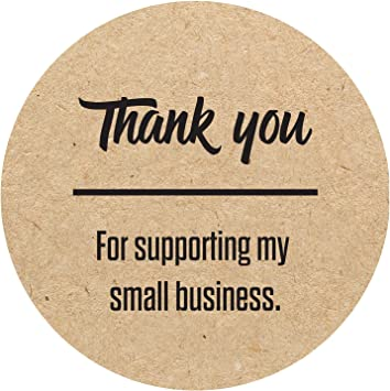 Thank You For Your Purchase Labels 1 Roll Of 100 Thank you Sticker Labels  2 x 3