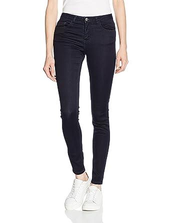 129514bb906c12 PIECES Damen Skinny Jeans Pcfive Betty Jeggings Dbld/Noos: Amazon.de:  Bekleidung