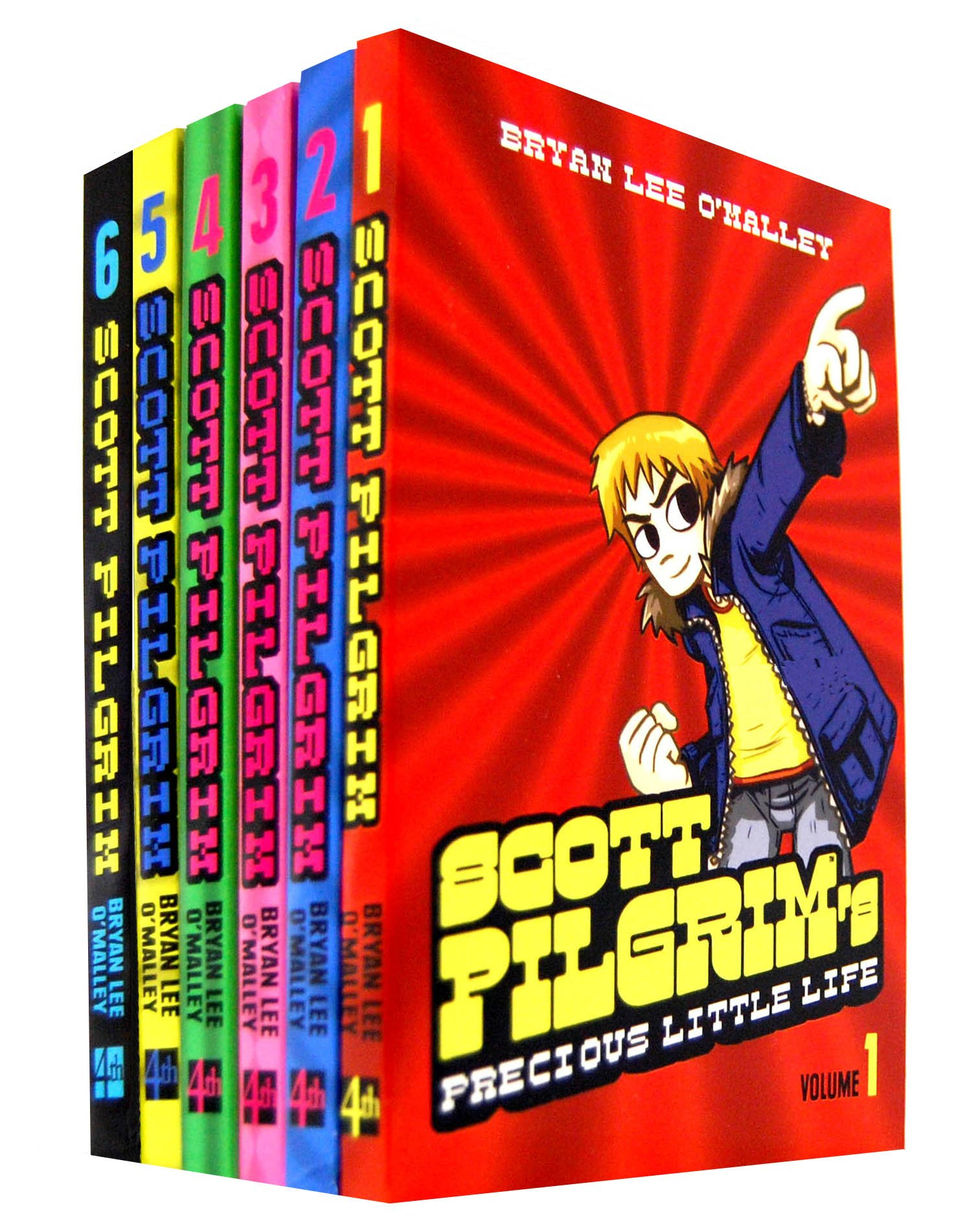 Scott pilgrim 6 books collection set (scott pilgrim's precious.