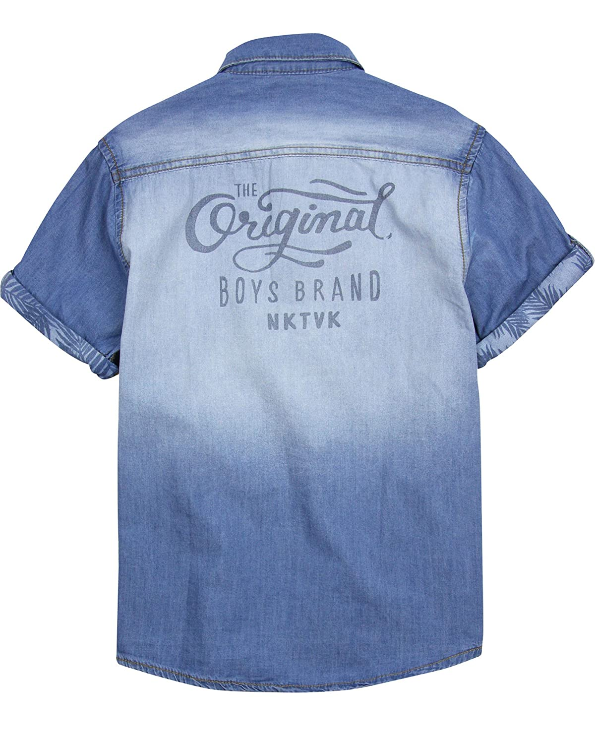 Sizes 10-16 Mayoral Junior Boys Chambray Shirt