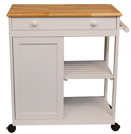 Bon Catskill Craftsmen Preston Hollow Kitchen Cart