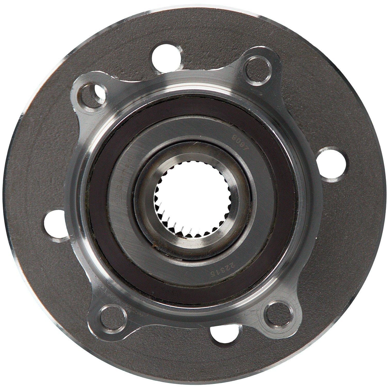 Radlager 1 St/ück Vorderachse beidseitig febi bilstein 22315 Radlagersatz mit ABS-Impulsring