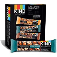 12-Count Kind Nuts and Spices Variety Pack, Gluten Free 1.4 Ounce Bars