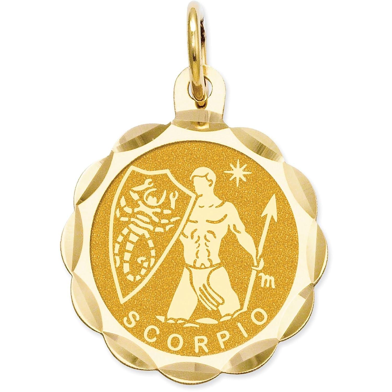 Tempat Jual Sumo Agate Black Terbaru 2018 Timberland Tbl14655js 07 Jam Tangan Pria Coklat Muda 14k Yellow Gold Aquarius Zodiac Disc Pendant Medallion With Satin Finish Jewelry