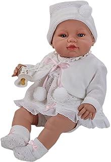 Amazon.es: Berbesa - Muñeco bebé recién nacido con cambiador, 42 cm ...