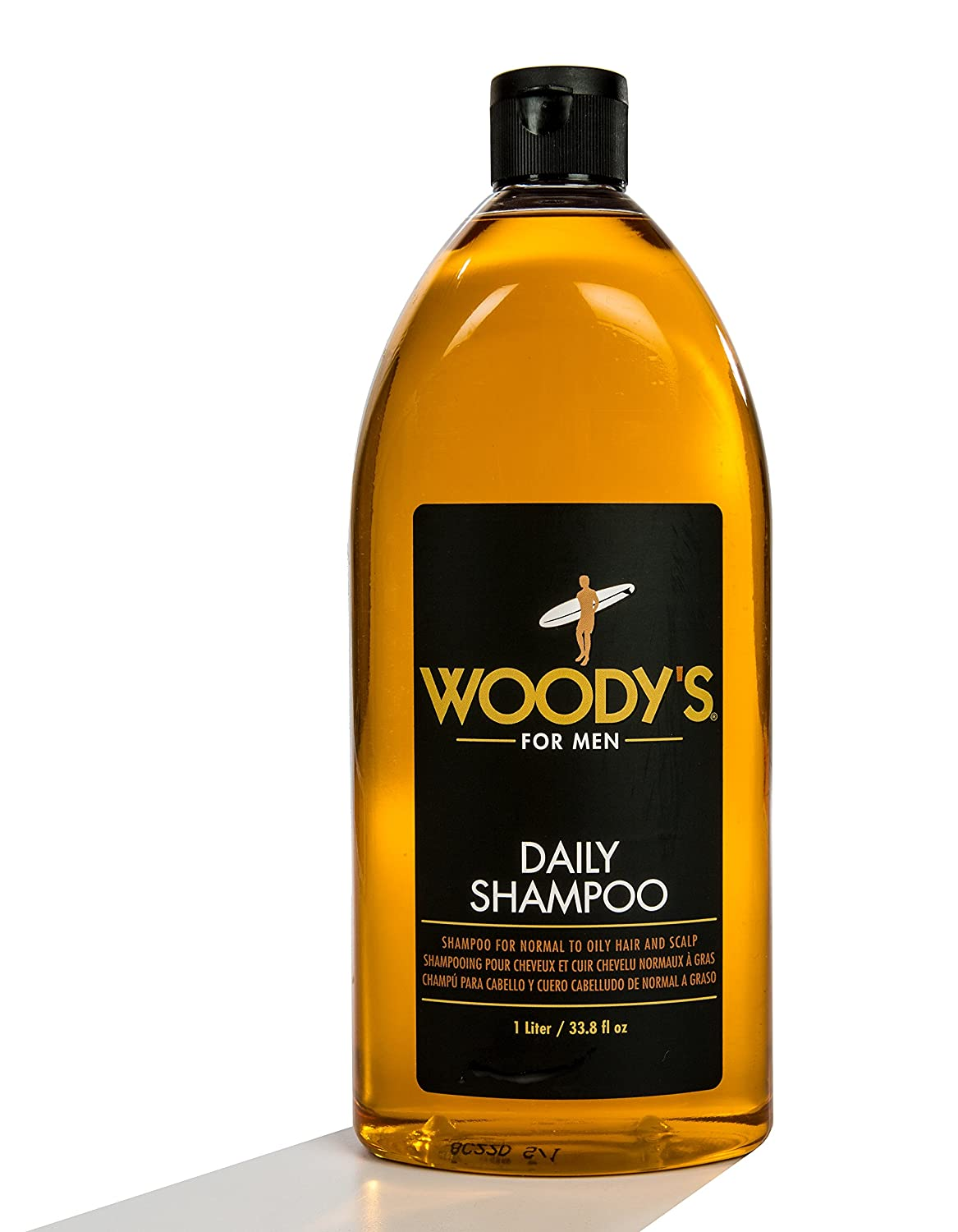 Woody's Daily Shampoo for Men, 33.8 Ounce Woody' s WOODY-905410