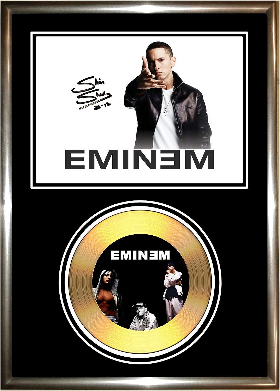 Eminem d/édicac/é disque dor
