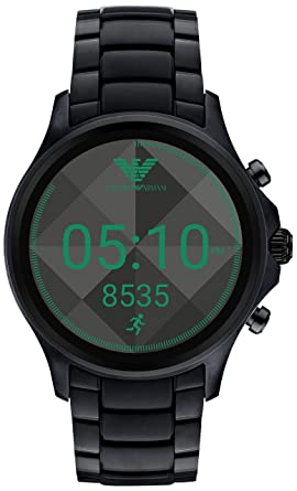 1dcdf3237e34 Amazon.com  Emporio Armani Touchscreen Smartwatch ART5002  Watches