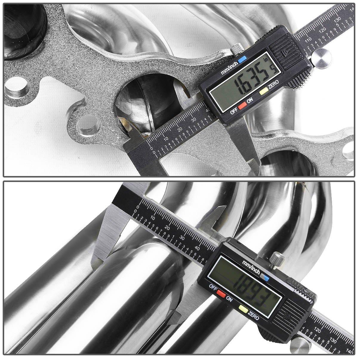 DNA Motoring HDS-FM11-LT Stainless Steel Exhaust Header Manifold