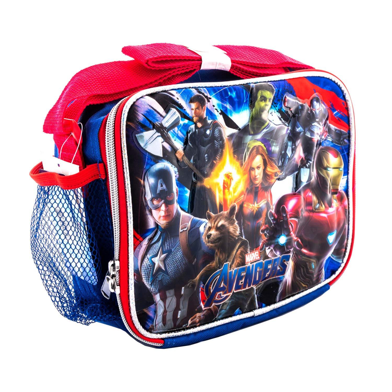 Avengers EndGame Marvel Super Hero Kids 16 School Backpacks Book Bag Travel Case Large 16