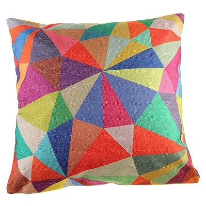 snykk Cojín 45 x 45 cm triángulos Rondell Incluye relleno ...