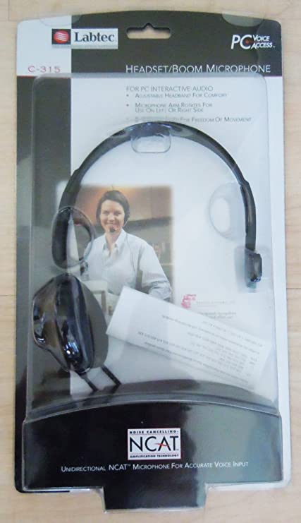 LABTEC HEADSET WITH MICROPHONE DRIVER WINDOWS