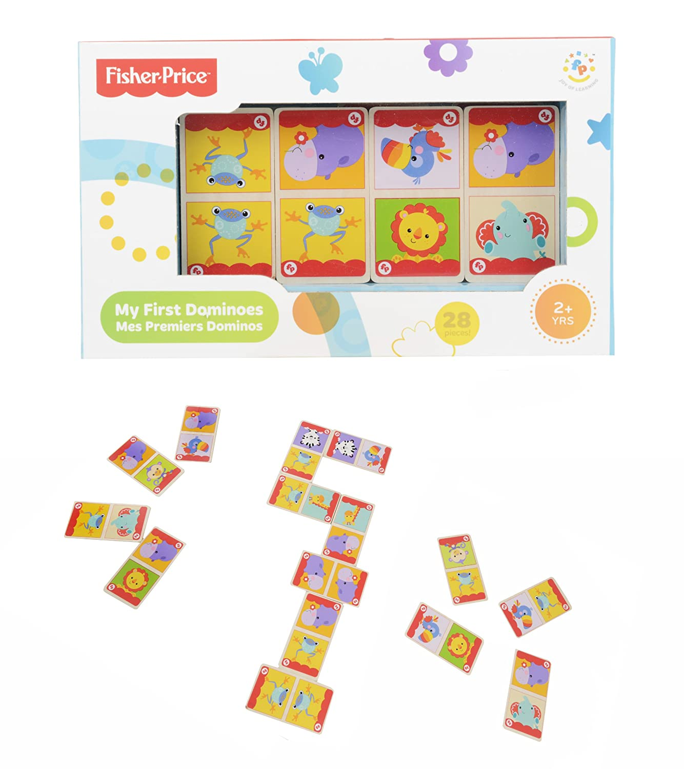 Fisher-Price Dominoes: Amazon.co.uk: Toys & Games