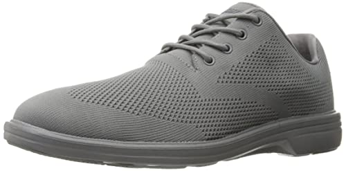 Vacante Inesperado sensación  Buy Skechers USA Men's Walson Dolen Oxford, Light Gray, 8 M US at Amazon.in