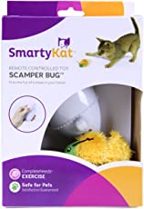 SmartyKat Scamper Bug Cat Toy Remote Controlled Chase Toy
