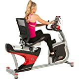 Fitness Reality X-Class 410 Recumbent Exercise Bike, Air Soft Seat, & Adjustable Lumbar Backrest