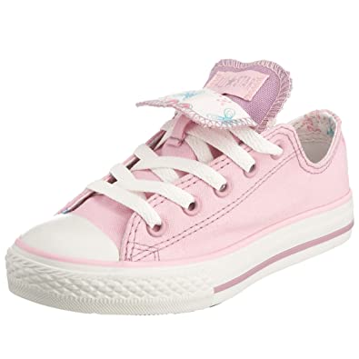 0cae19a1a9ef Converse Junior Chuck Taylor All Star Flower Print Double Tongue OX Lace-Up  Pink Lady Flowers 614132 12 Child UK  Amazon.co.uk  Shoes   Bags