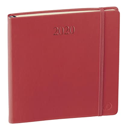 Quo Vadis 905028Q, Agenda 2020 Executif Prestige Multilingüe Habana, Color Rojo