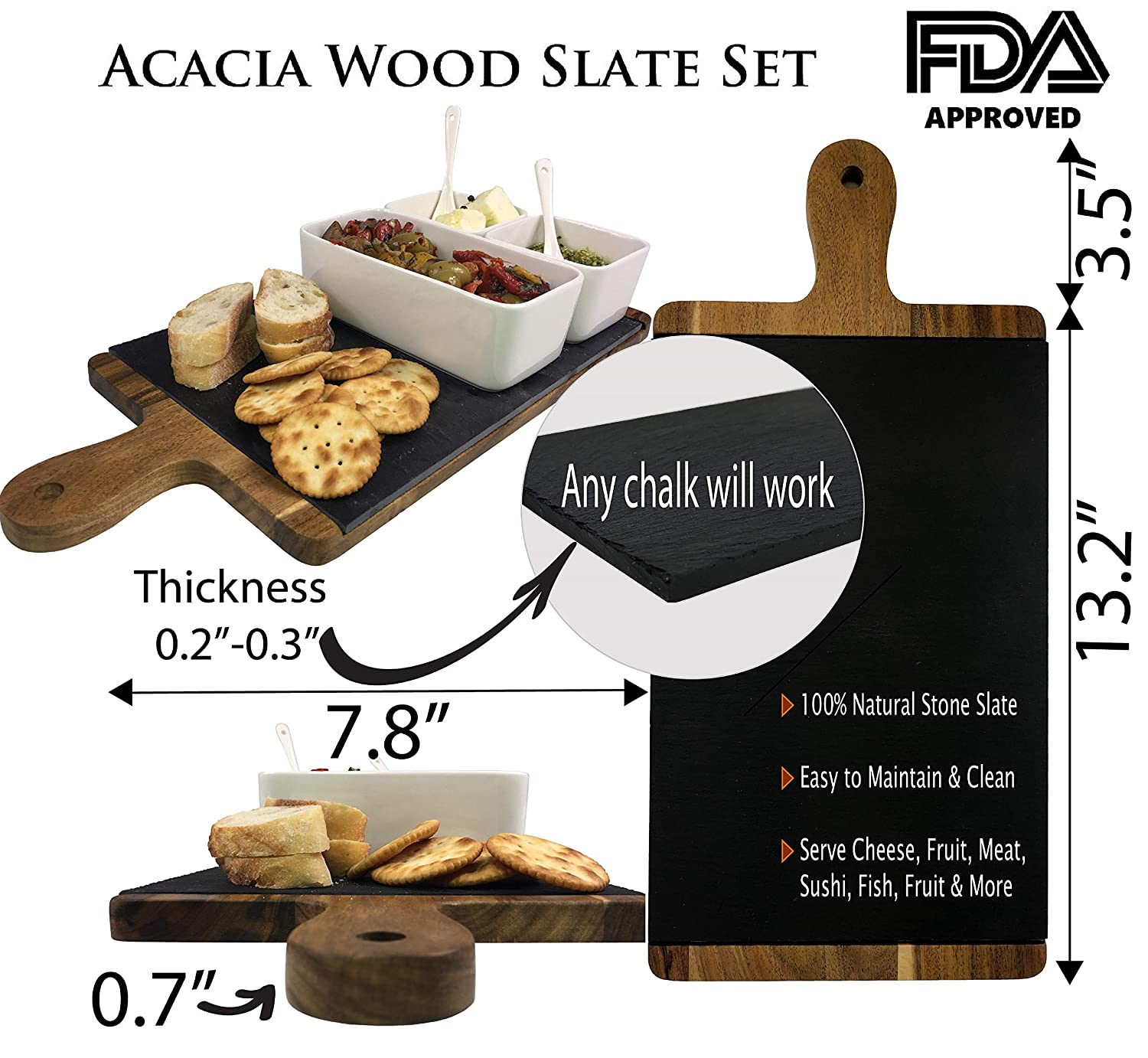 Charcuterie/Cheese Board Set