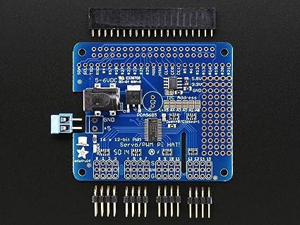 2327 - Raspberry Pi PWM Servo Hat Development Board