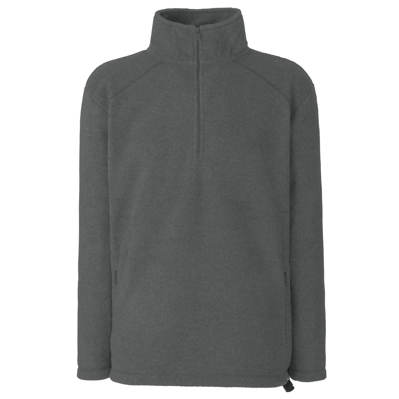 Fruit of the Loom Men's Half Zip Fleece Sweatshirt 62-512-0