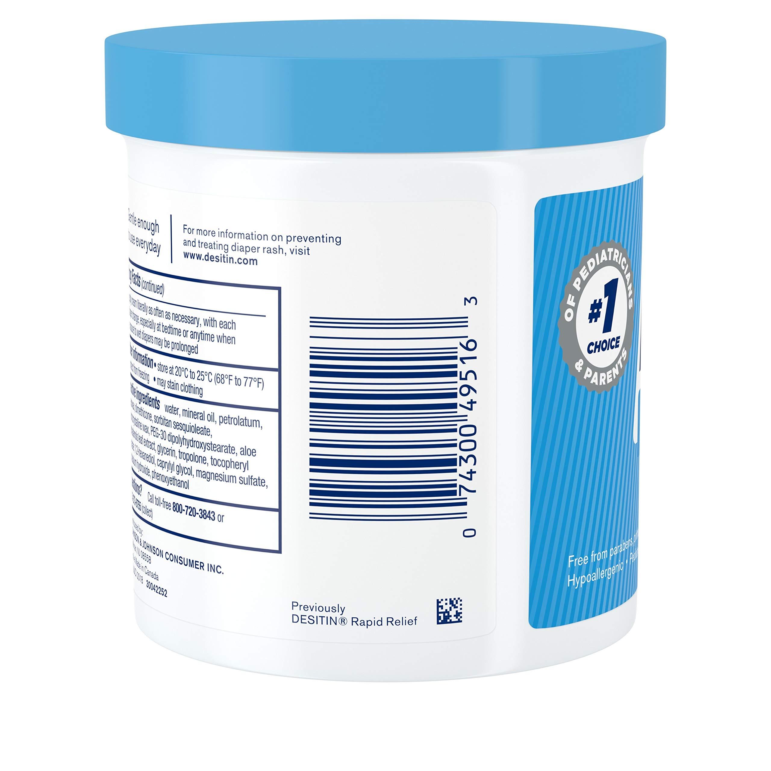 Desitin Daily Defense Baby Diaper Rash Cream with Zinc Oxide to Treat, Relieve & Prevent diaper rash, 16 oz by Desitin (Image #7)