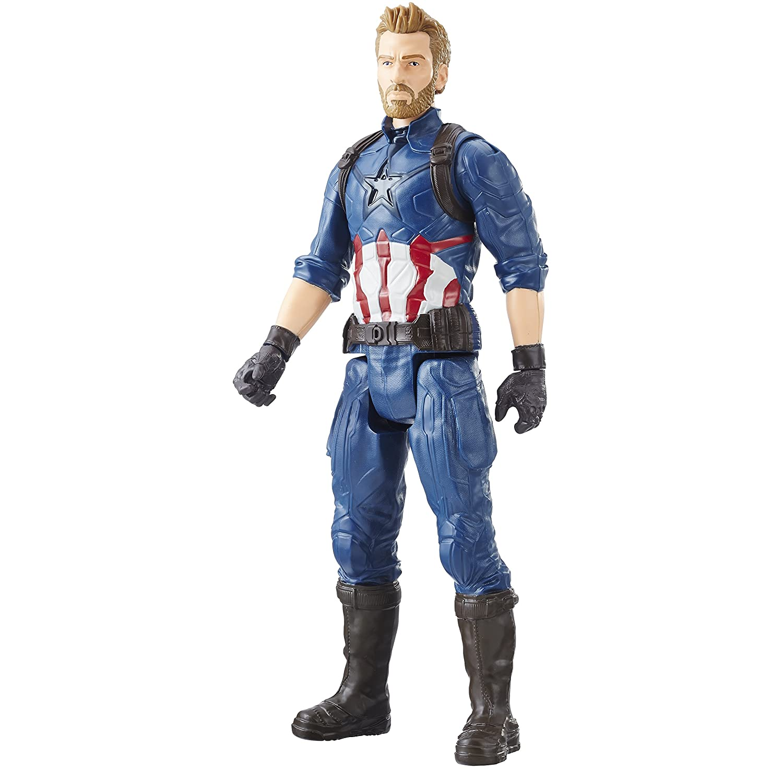 Avengers E1421AS00 Marvel Infinity War Titan Hero Series Captain America with Titan Hero Power Fx Hasbro