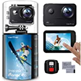 VanTop Moment 4C 4K/60FPS Action Camera with EIS, Sony Sensor, Timer, Burst, Loop Recording, Time Lapse, Wi-Fi, 30M Waterproo