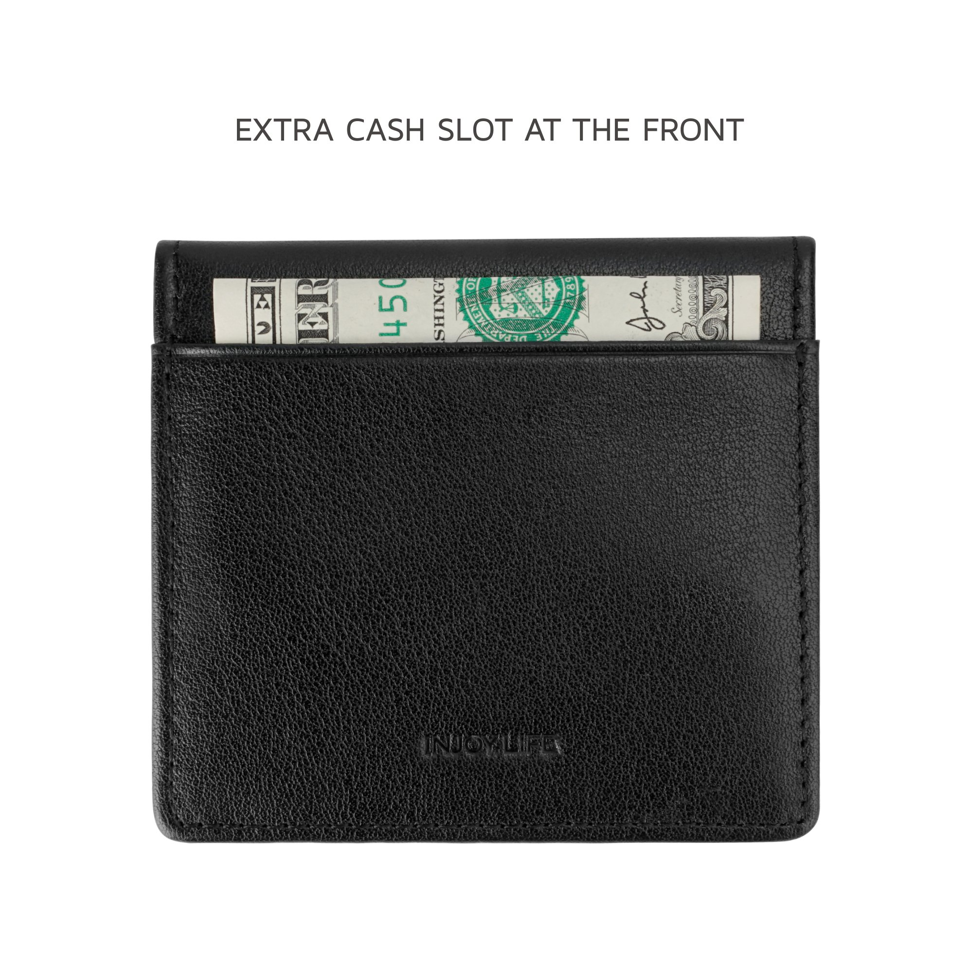 INJOYLIFE New Coin Purse Wallet Leather Snap Button Hot Sale for Men and Women