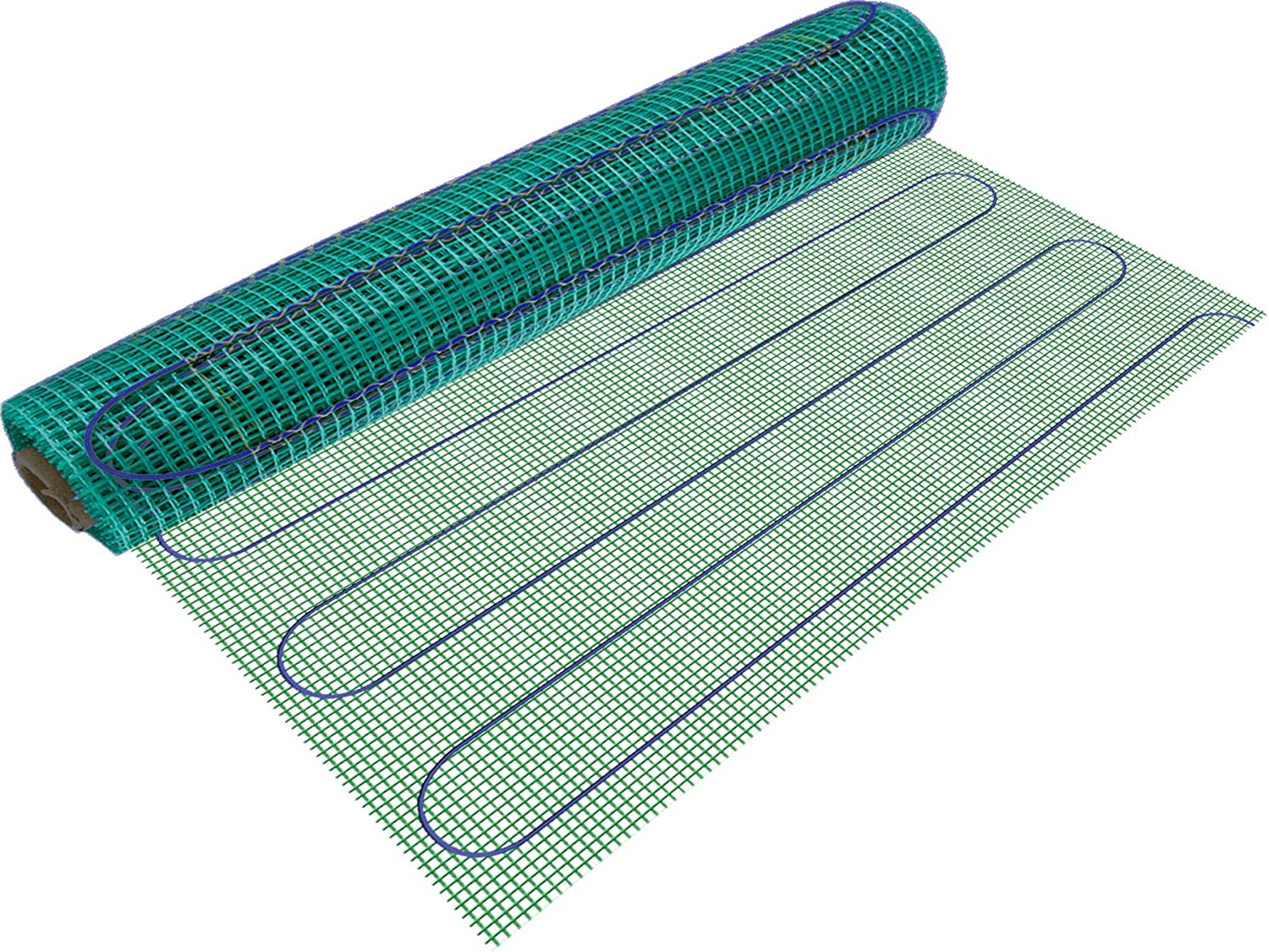 WarmlyYours TempZone Electric Floor Heating Mat, 15 sq. ft. (3' x 5')