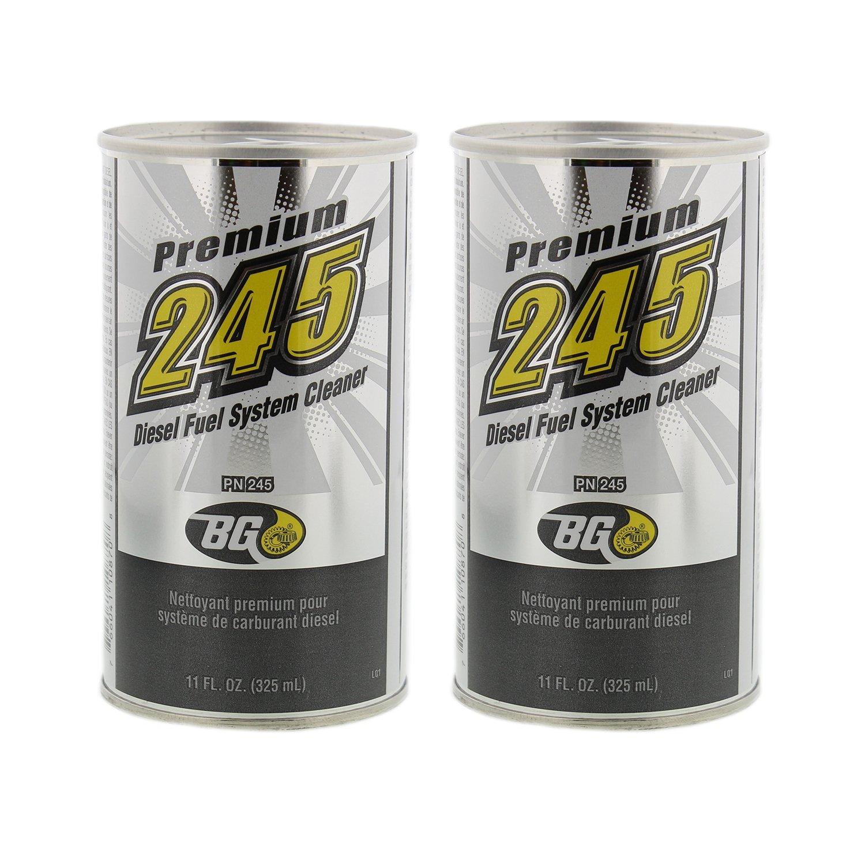 BG 245 Premium Diesel Fuel System Cleaner, 11 oz. Can, 2-Pack