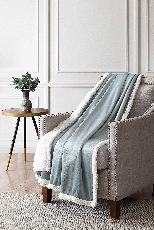 50 x 60 inch Sleepwish Black Wolf Blanket Teen Large Animal Blanket Warm and Soft Fleece Sherpa Throw Blanket for Sofa Couch