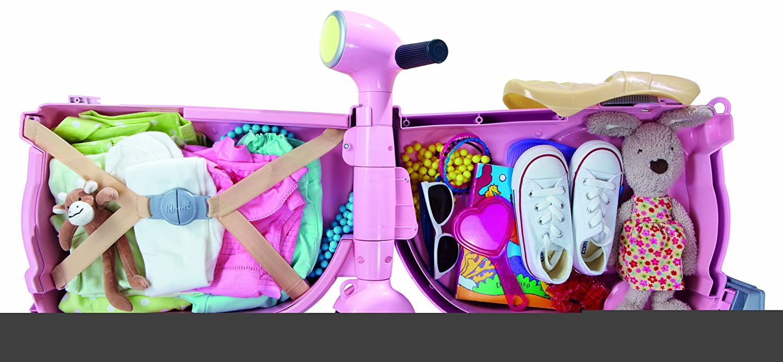 Amazon.com: Diggin skootcase, Azul, Rosado: Toys & Games