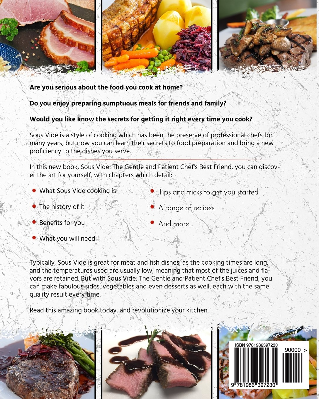 Sous Vide Cookbook: The Complete Sous Vide Cookbook - 150 Simple To Make At  Home