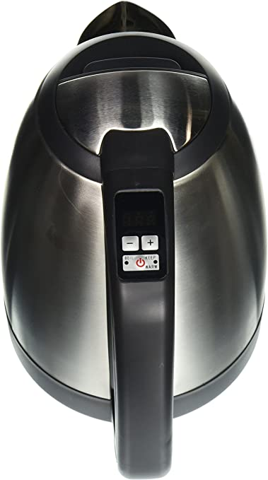 Amazon Com Sunpentown Mk 17s18e E5 1 7l Staineless Cordless Electric Kettle With Variable Temp Gray Home Kitchen