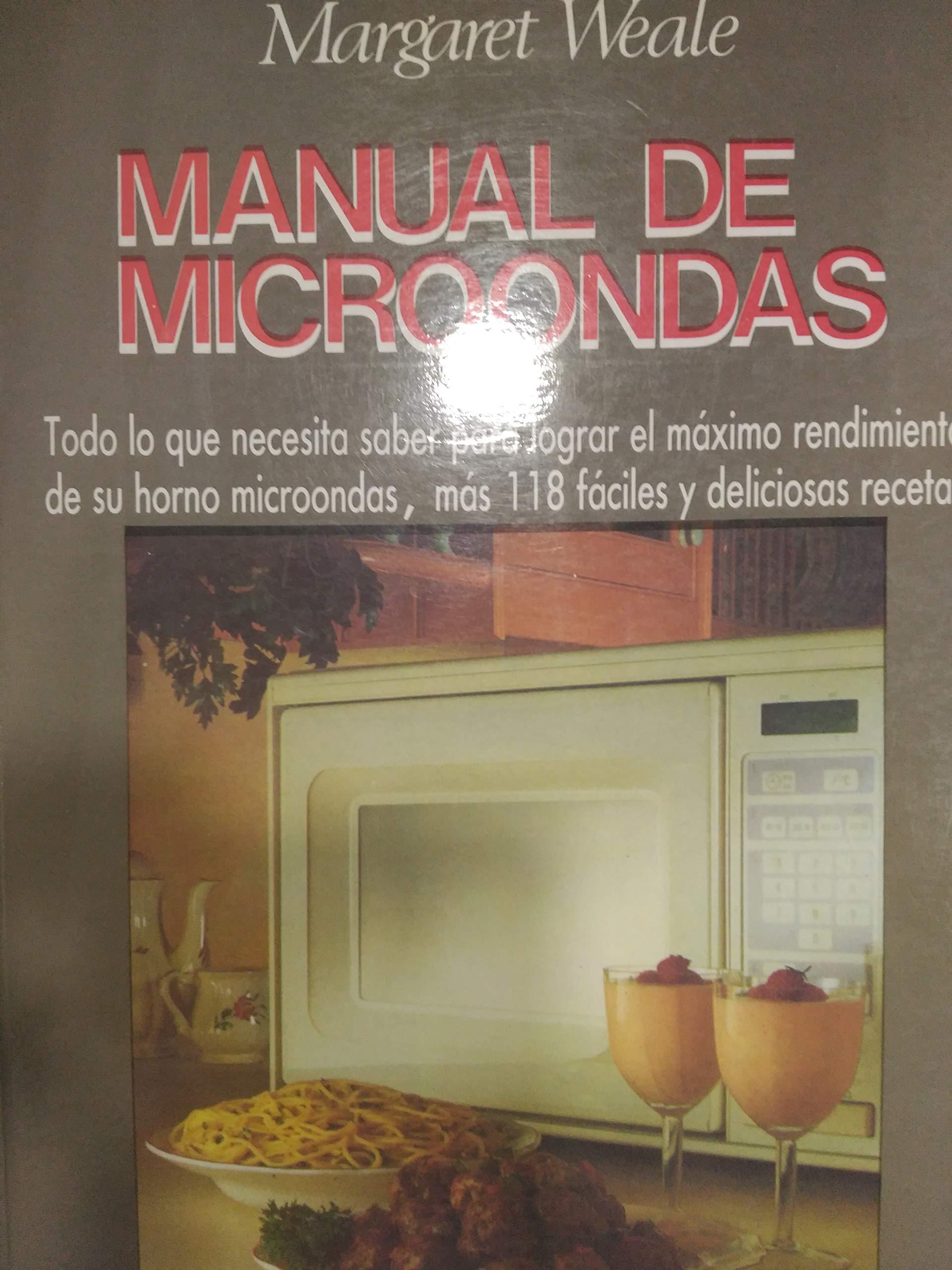 Manual De Microondas: Amazon.es: Margaret Weale: Libros en idiomas ...
