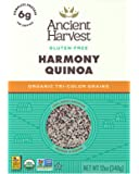 Ancient Harvest Organic Quinoa, Harmony Tri-Color Blend, 12 oz. Box, Essential Gluten-Free Whole Grain Quinoa Mix Packed with Protein, An Easy to Prepare Supergrain