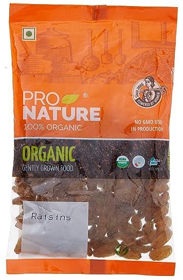 Pro Nature 100% Organic Raisins, 100g