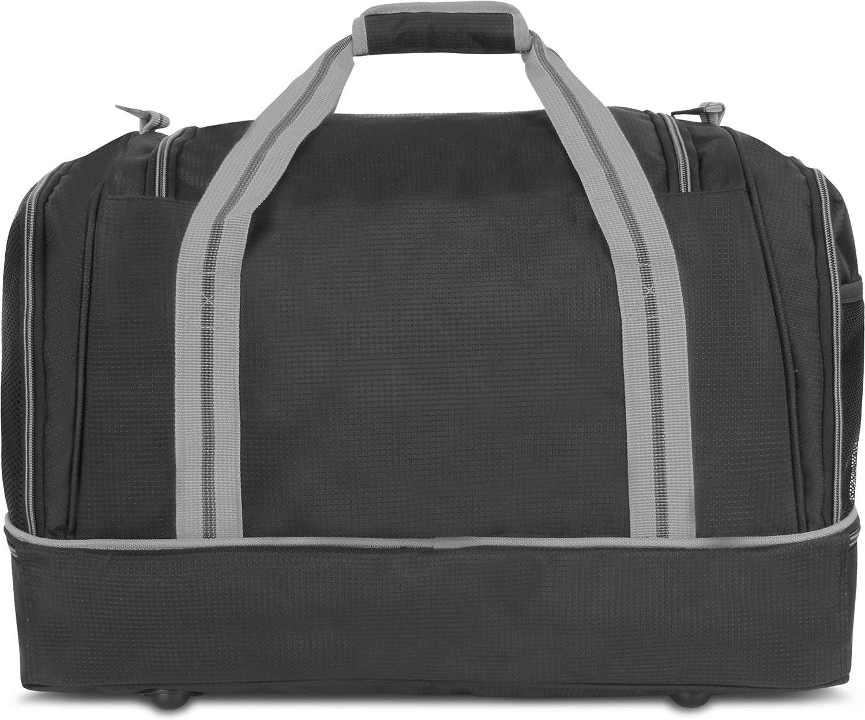 Fitnesstasche Reisetasche mit gro/ßem Schuhfach und Nassfach f/ür Damen und Herren 55 cm x 30 cm x 36 cm normani Sporttasche 58 Liter