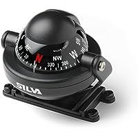 Relags Silva kompas 'C58' voor auto en boot, zwart, één maat