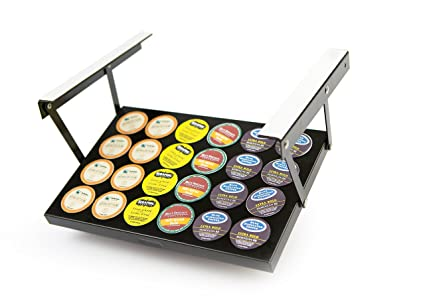 Amazoncom Coffee Keepers Under Cabinet K Cup Holder 608938498274