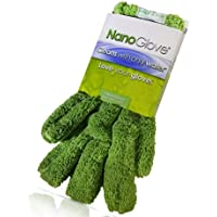 Nano Glove - Green Household Kitchen Cleaning Hand Glove   Replaces Paper Towels Microfiber Wipe Cloths & Feather…